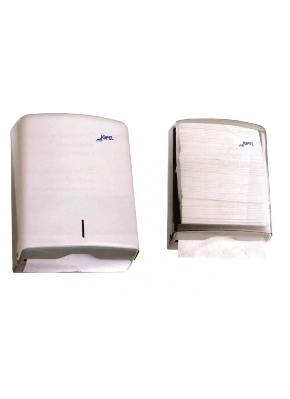 Dispensador Papel Toalla Z AH33000 Blanco